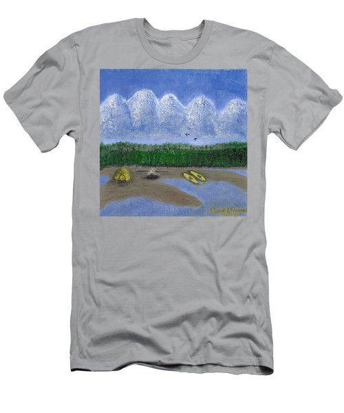 Pacific Northwest Camping Men's T-Shirt (Athletic Fit)