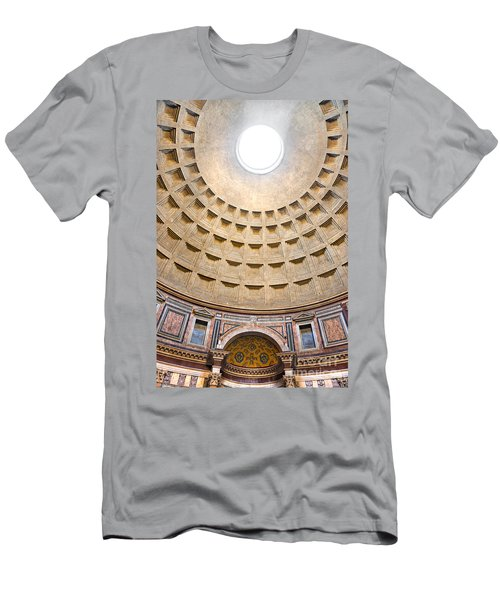 Men's T-Shirt (Slim Fit) featuring the photograph Pantheon  by Luciano Mortula