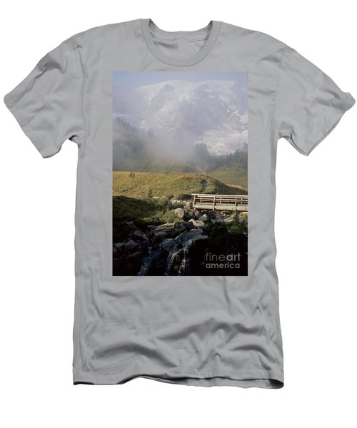 Men's T-Shirt (Slim Fit) featuring the photograph Paradise Valley by Sharon Elliott
