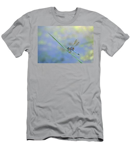 Men's T-Shirt (Slim Fit) featuring the photograph Perched Dragon by JD Grimes