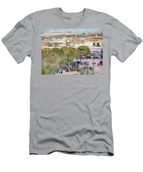 Place Centrale And Fort Cabanas - Havana Men's T-Shirt (Athletic Fit)