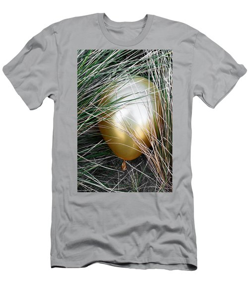 Men's T-Shirt (Slim Fit) featuring the photograph Playing Hide And Seek by Steve Taylor