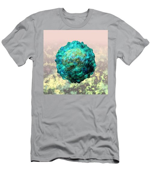 Polio Virus Particle Or Virion Poliovirus 1 Men's T-Shirt (Athletic Fit)