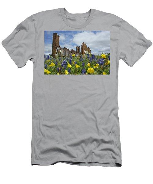 Pontotoc Schoolhouse Men's T-Shirt (Athletic Fit)