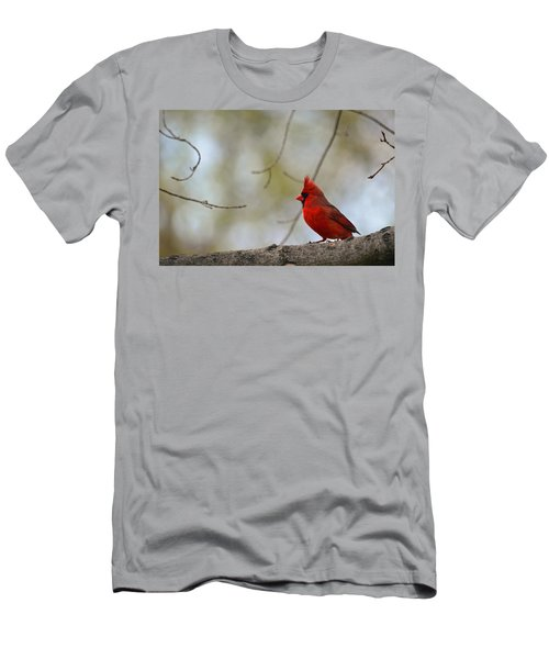 Pop Of Color Men's T-Shirt (Slim Fit) by Lori Tambakis