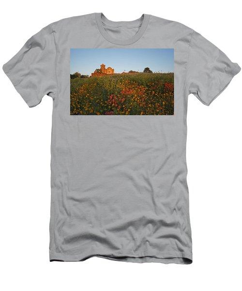 Presidio La Bahia 3 Men's T-Shirt (Slim Fit) by Susan Rovira