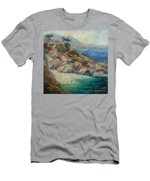 Pt Lobos View Men's T-Shirt (Athletic Fit)