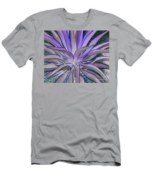 Purple Aloe Men's T-Shirt (Athletic Fit)