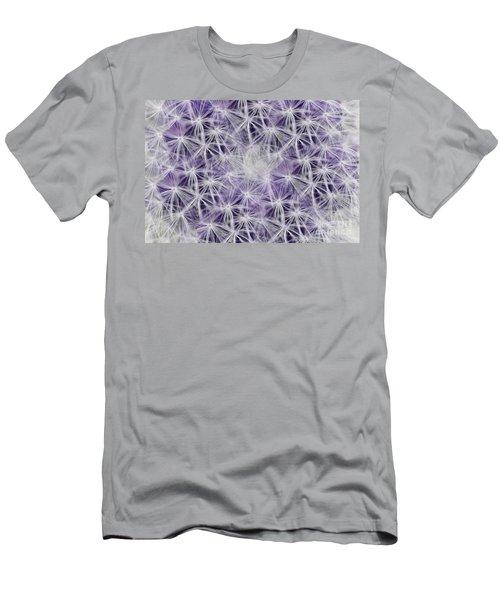 Purple Wishes Men's T-Shirt (Athletic Fit)