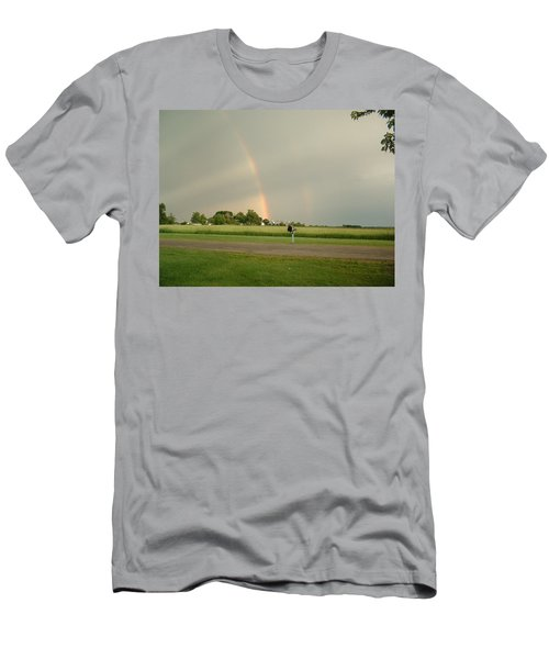 Men's T-Shirt (Slim Fit) featuring the photograph Ray Bow by Bonfire Photography