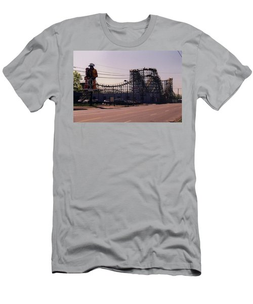 Men's T-Shirt (Slim Fit) featuring the photograph Ride It Cowboy by Stacy C Bottoms