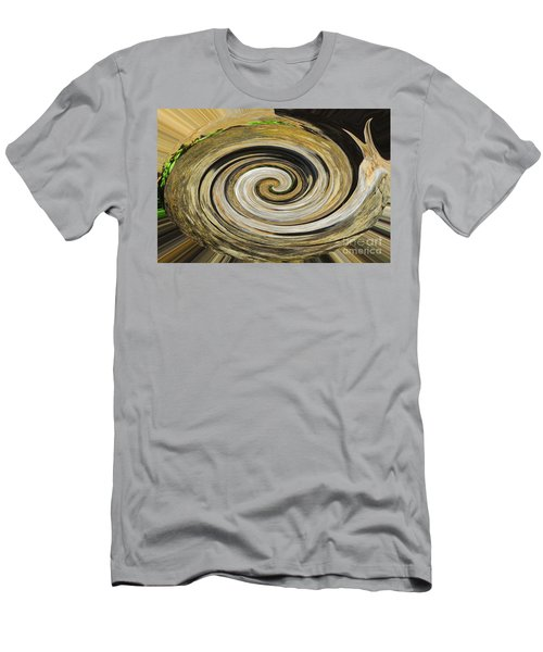 Men's T-Shirt (Slim Fit) featuring the photograph Rocky Road by Cindy Manero