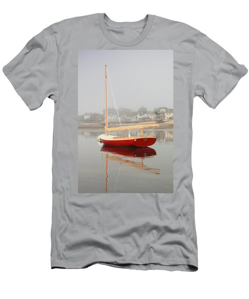 Ruby Red Catboat Men's T-Shirt (Athletic Fit)