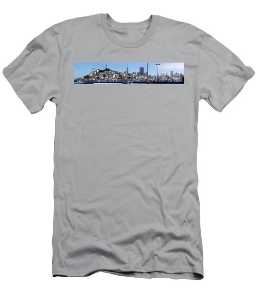 San Francisco Panorama Men's T-Shirt (Athletic Fit)