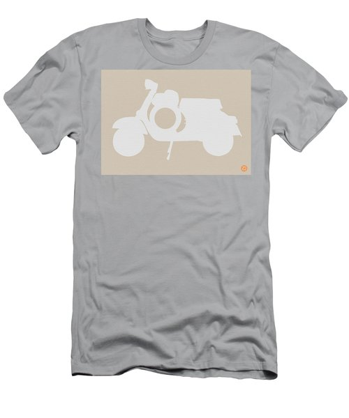 Scooter Brown Poster Men's T-Shirt (Athletic Fit)