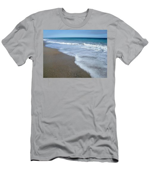 Seascape Wrightsville Beach Nc  Men's T-Shirt (Athletic Fit)
