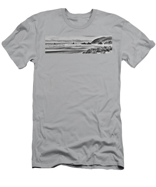 Seaside By The Ocean Men's T-Shirt (Athletic Fit)
