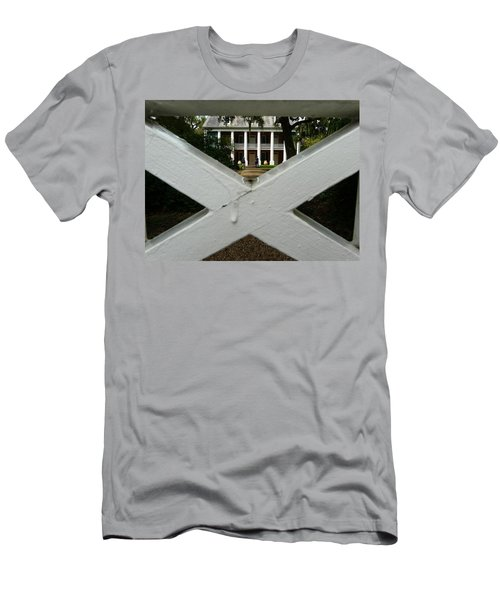 Shadows X On The Teche  Men's T-Shirt (Slim Fit) by Rdr Creative