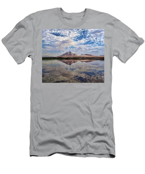 Men's T-Shirt (Slim Fit) featuring the photograph Skies Illusion by Tammy Espino