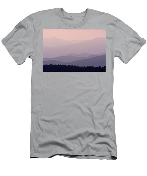 Smoky Mountain Sunset Men's T-Shirt (Athletic Fit)