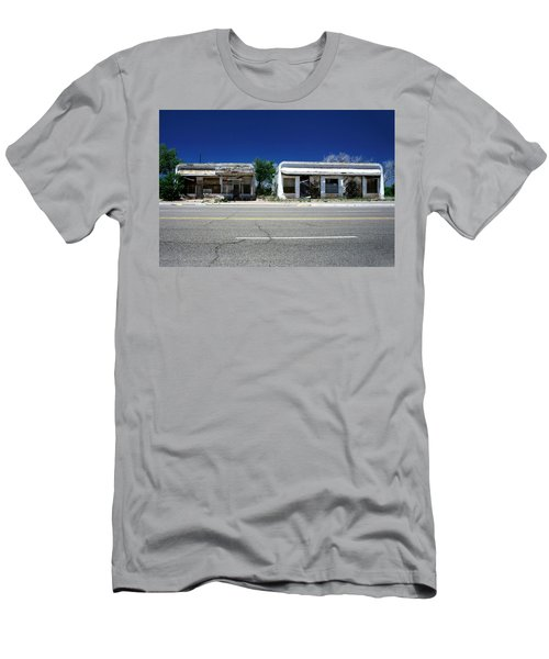 Men's T-Shirt (Slim Fit) featuring the photograph Somewhere On Hwy 285 Number Two by Lon Casler Bixby