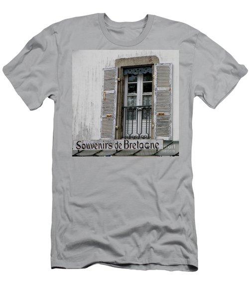 Men's T-Shirt (Slim Fit) featuring the photograph Souvenirs De Bretagne by Lainie Wrightson