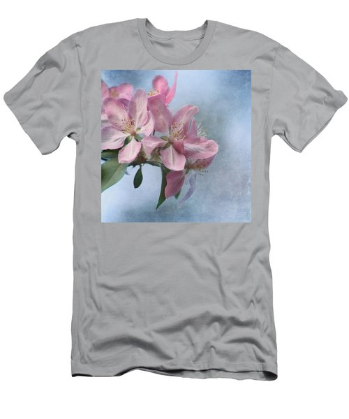 Spring Blossoms For The Cure Men's T-Shirt (Athletic Fit)
