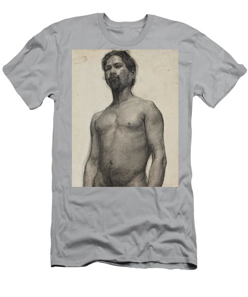Study Of A Man Men's T-Shirt (Athletic Fit)