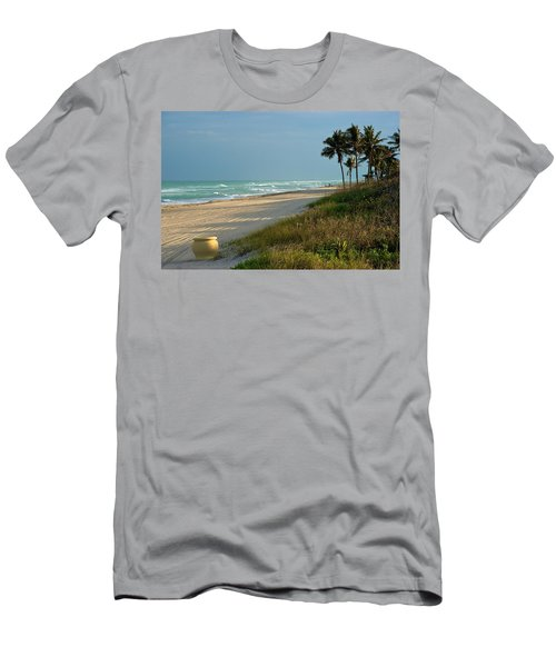 Sunset Pot Men's T-Shirt (Athletic Fit)