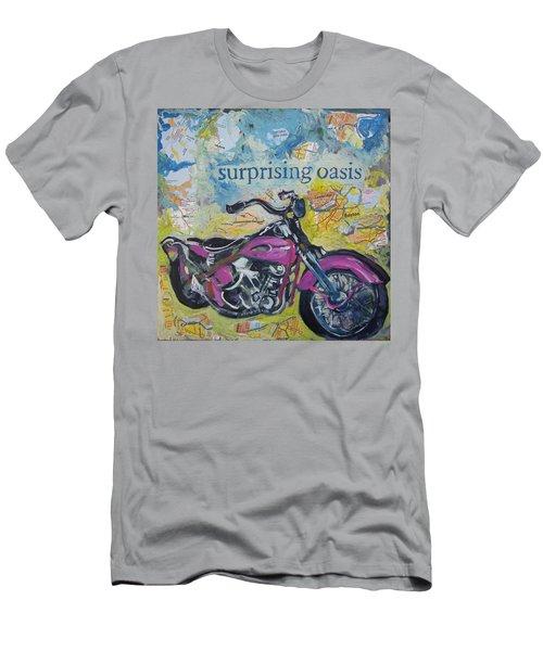 Surprising Oasis Men's T-Shirt (Athletic Fit)