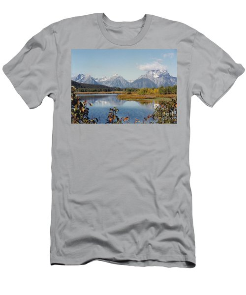 Tetons Reflection Men's T-Shirt (Athletic Fit)