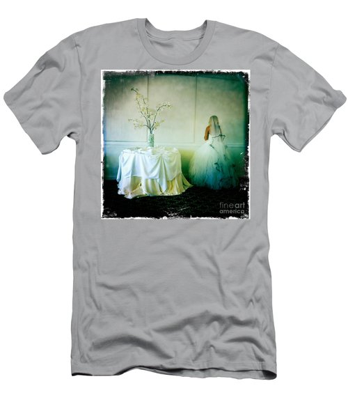 Men's T-Shirt (Slim Fit) featuring the photograph The Bride Takes A Moment by Nina Prommer