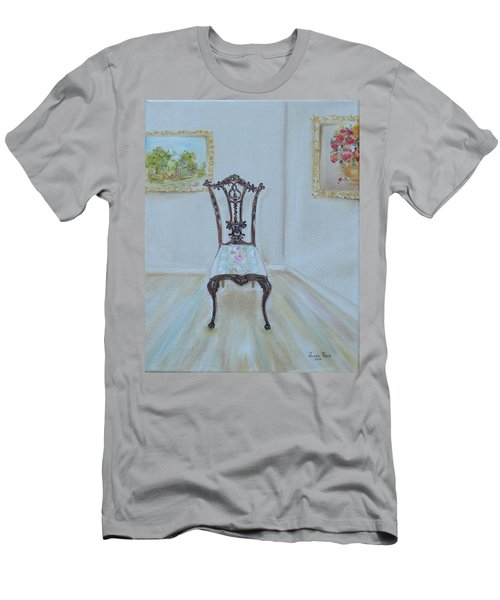 The Chair Men's T-Shirt (Slim Fit) by Judith Rhue