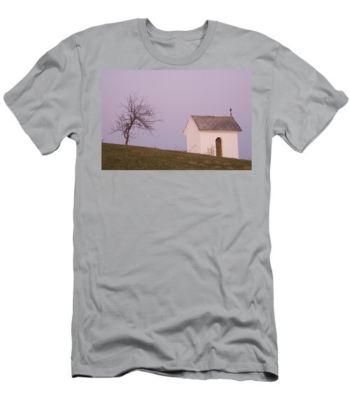 The Chapel On The Hill Men's T-Shirt (Athletic Fit)
