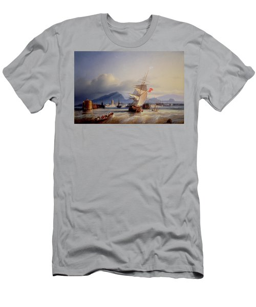The Port Of Leith Men's T-Shirt (Athletic Fit)