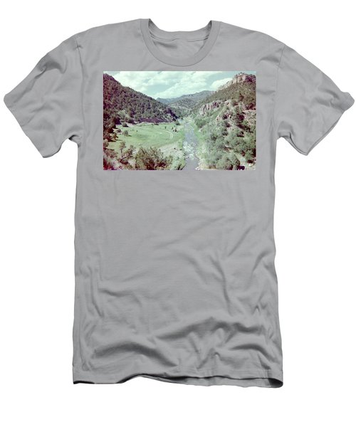 Men's T-Shirt (Slim Fit) featuring the photograph The River by Bonfire Photography