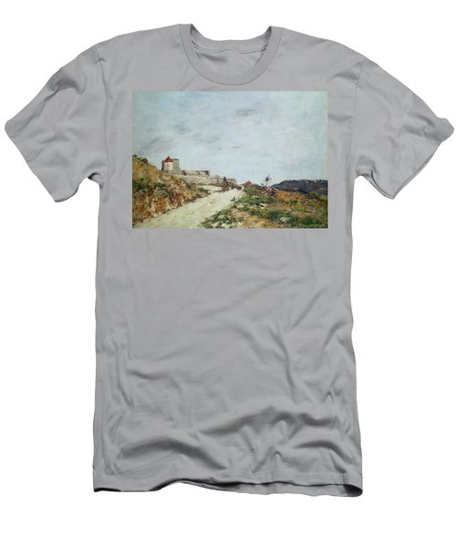 The Road To The Citadel At Villefranche Men's T-Shirt (Athletic Fit)