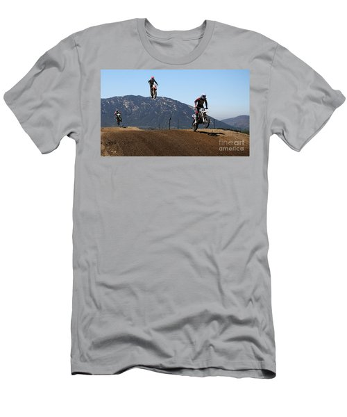 Three In The Air Men's T-Shirt (Athletic Fit)