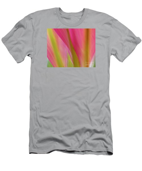 Men's T-Shirt (Slim Fit) featuring the photograph Ti Leaves by Ranjini Kandasamy