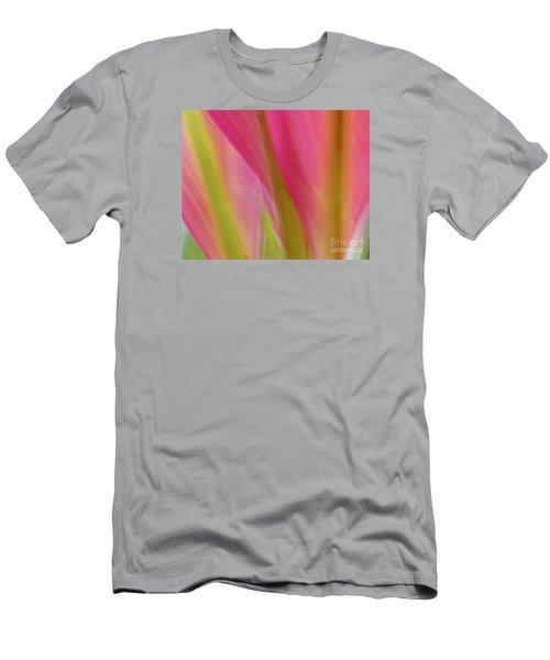 Ti Leaves Men's T-Shirt (Slim Fit) by Ranjini Kandasamy