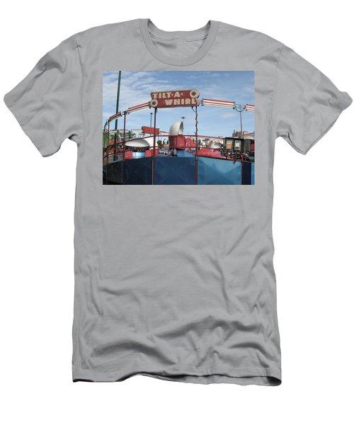 Tilt A Whirl Ride Men's T-Shirt (Athletic Fit)