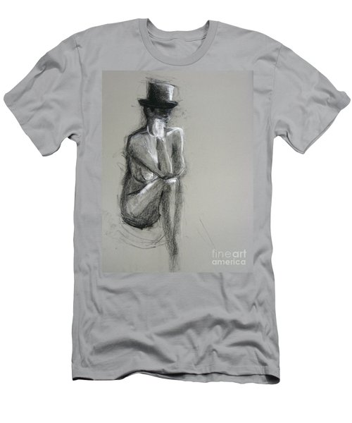 Men's T-Shirt (Athletic Fit) featuring the drawing Top by Gabrielle Wilson-Sealy
