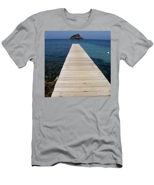 Tranquility  Men's T-Shirt (Slim Fit) by Lainie Wrightson