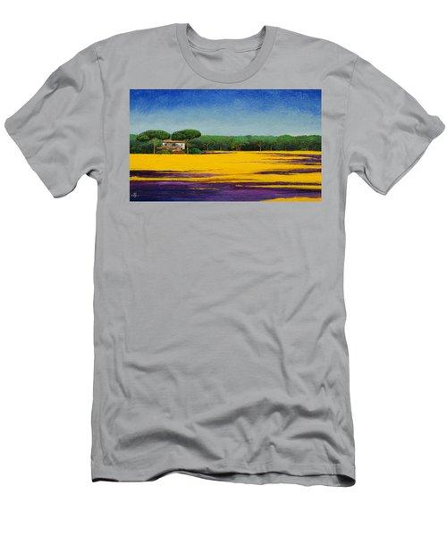 Tuscan Landcape Men's T-Shirt (Athletic Fit)