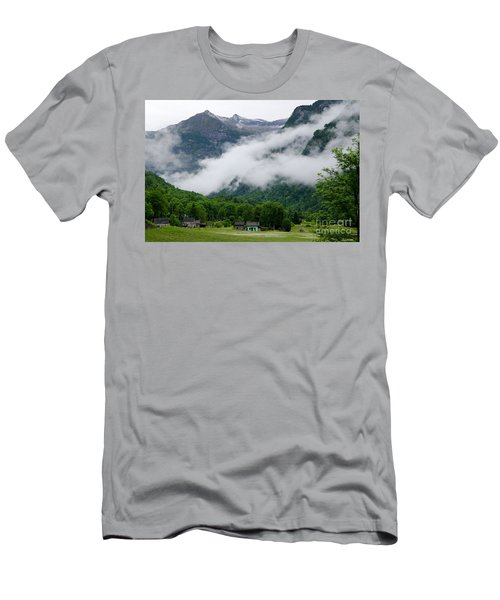 Village In The Alps Men's T-Shirt (Athletic Fit)
