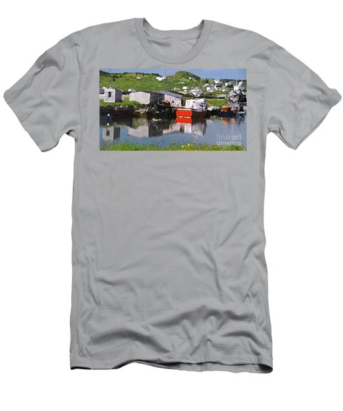 Men's T-Shirt (Slim Fit) featuring the photograph Villiage by Lydia Holly