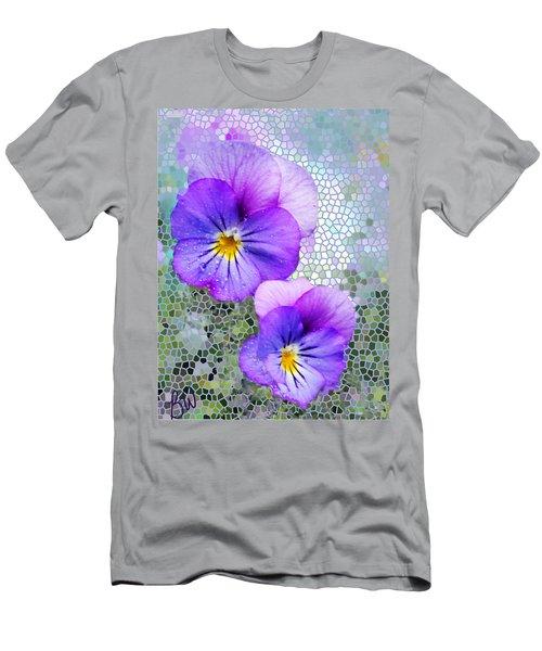 Viola On Glass Men's T-Shirt (Athletic Fit)