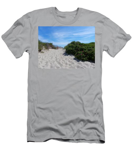 Walking Through The Dunes Men's T-Shirt (Athletic Fit)