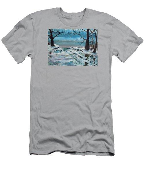 Washoe Winter Men's T-Shirt (Slim Fit) by Dan Whittemore