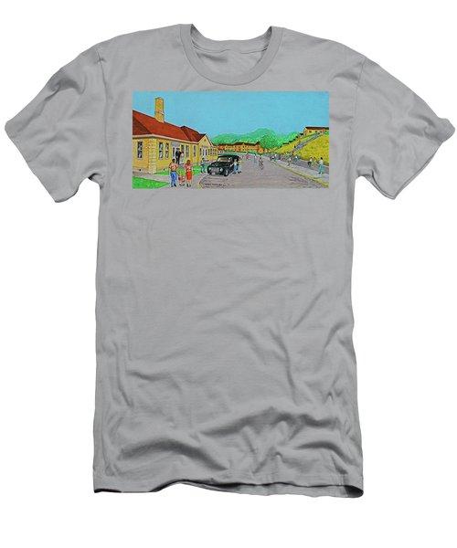 Wayne Hills 1948 Men's T-Shirt (Slim Fit) by Frank Hunter